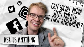 Hank Green Asks About Free Speech And Censorship On Social Media