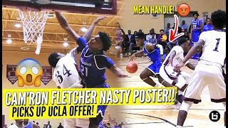 Kentucky Commit Cam'Ron Fletcher SHUTS THE CITY DOWN WITH NASTY POSTER!! Hoodie Rio NASTY Handle!