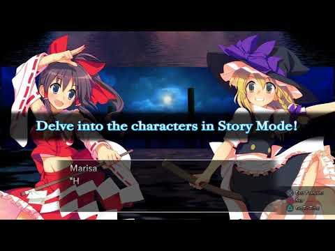 Видео № 1 из игры Touhou Genso Rondo: Bullet Ballet (Б/У) [PS4]