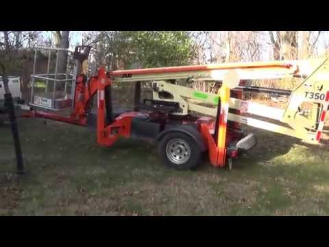 How To Operate A JLG T350 Man Lift Mp3