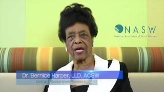 NASW - Dr. Bernice Harper