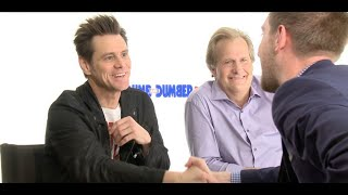 DUMB AND DUMBER TO interview with Jim Carrey & Jeff Daniels