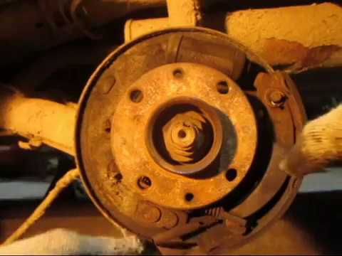 Ремонт и регулировка стояночного тормоза ( ручника) на ВАЗ 2110-12