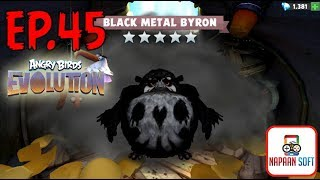 ANGRY BIRDS EVOLUTION - BLACK METAL BYRON - TRIBUTE TO IRON MAIDEN - HATCHING 10 PREMIUM EGGS