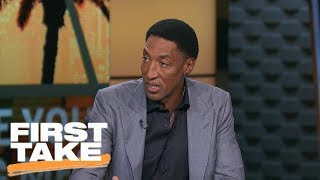 Scottie Pippen reacts to Lonzo Ball's debut and LaVar Ball's hype   First Take   ESPN - Video Youtube