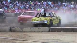 preview picture of video '2014 Suffolk Peanut Fest Demolition Derby HEAT #1'