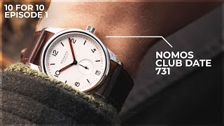 Is This The Best Everyday Watch? - The Nomos Club Date 731 Review: 10 For 10 By WatchGecko