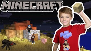 UPGRADING MY CUTE LITTLE HOUSE ON THE HILL in MINECRAFT SURVIVAL MODE