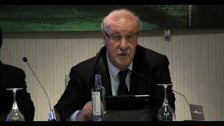 Vicente del Bosque - Conference