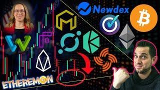 Market Recovery?!? NEWDEX FAKE $EOS HACK ⚠️ CryptoMom Strikes Back! $BTC 300x Cheaper Fees #bitcoinify