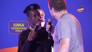 Alex Muhangi Comedy Store June 2019 - Kabaata (Mzungu)