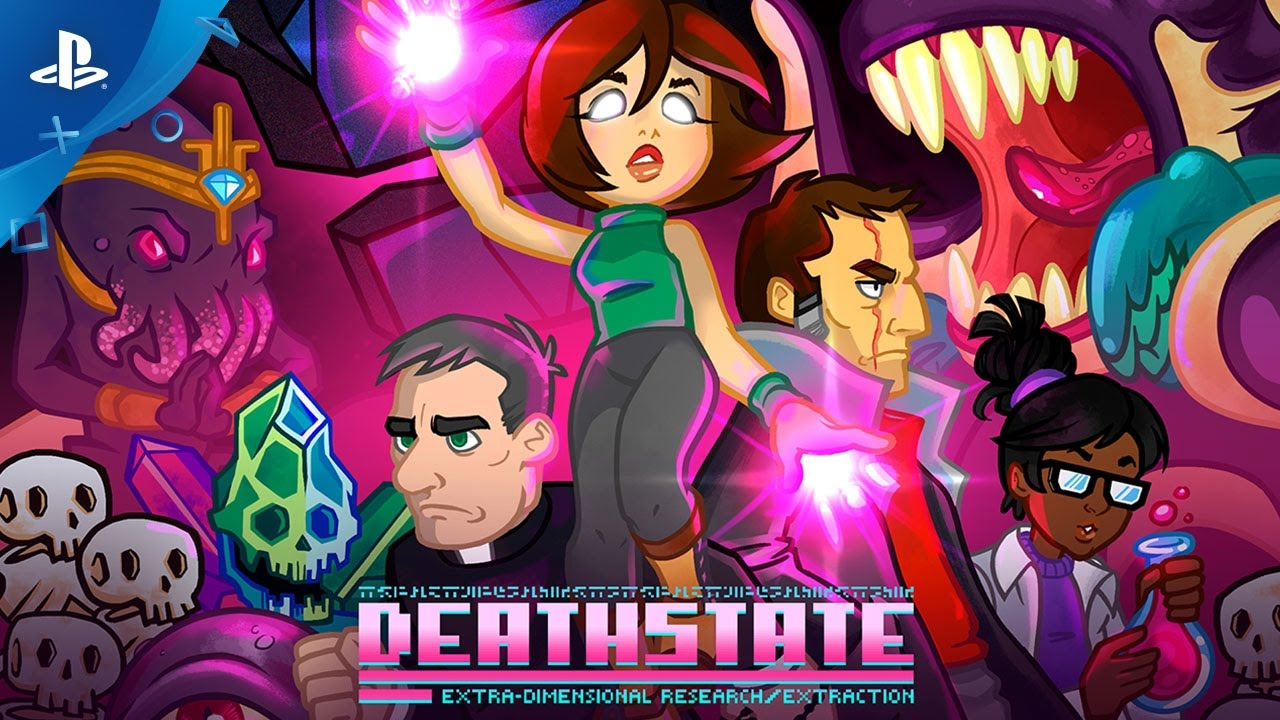 Get Weird in Bullet Hell Shooter Deathstate, Out April 25
