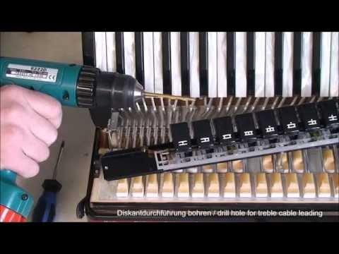 Akkordeonmikrofon Akkordeonmikro Einbausatz - Teil 1 - HAtools Konzertmikro FUNKMIKRO accordionmicro