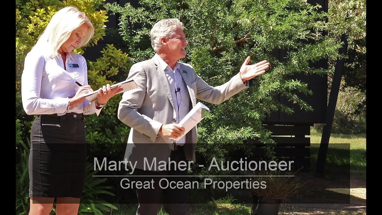 Great Ocean Properties Auctioneer - Marty Maher