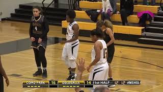High School Girls Basketball: Como Park vs. DeLaSalle