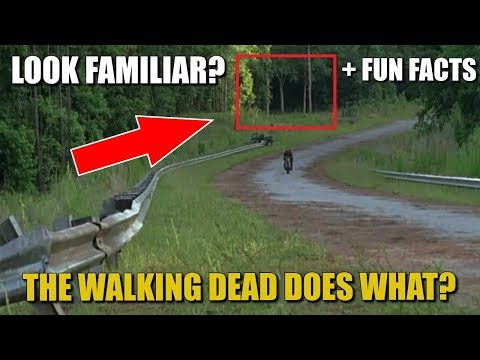 The Walking Dead Season 8 Discussion & Filming Location Reused + TWD Fun Facts