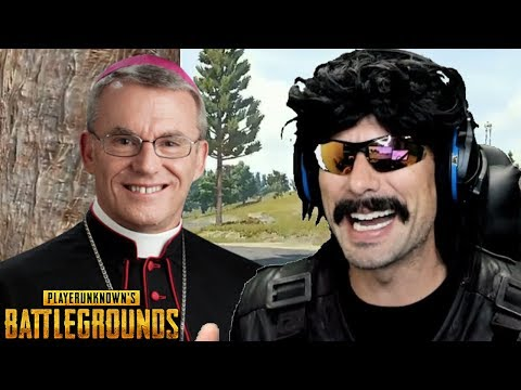 DrDisRespect gets Donation from Pastor and Funny Moments on PUBG!
