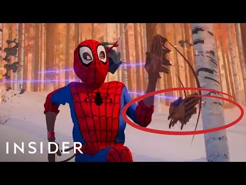 How 'Spider-Man: Into The Spider-Verse' Was Animated