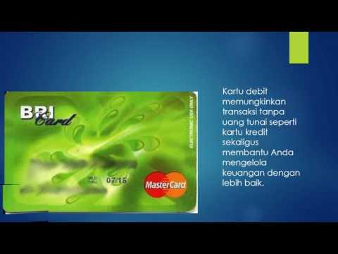 Video cara menggunakan kartu debit