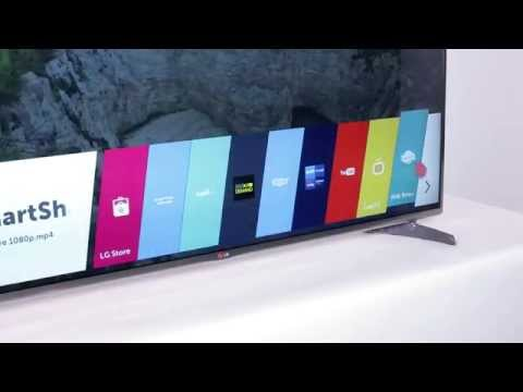 LG Smart TV powered by webOS - LB6500 HD