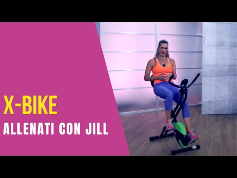 Jill Cooper - Allenamento tonificante interno esterno cosce con la bici