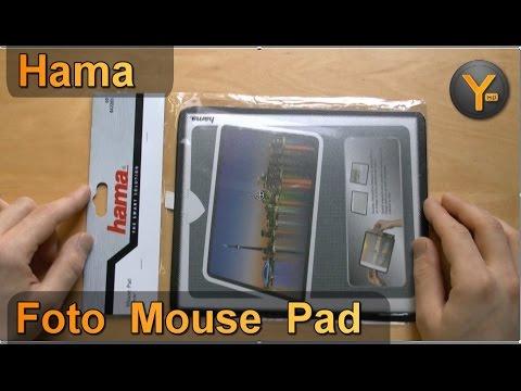 Kurztest: Hama Foto Mouse Pad Magic mit Einschub 23x20cm / Photo Mousepad
