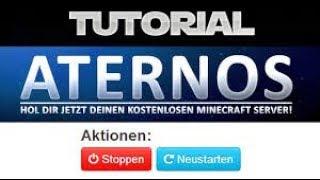 Free MinecraftServer Hosten Aternos Nie Wieder Geld Für - Tutorial minecraft server erstellen kostenlos youtube