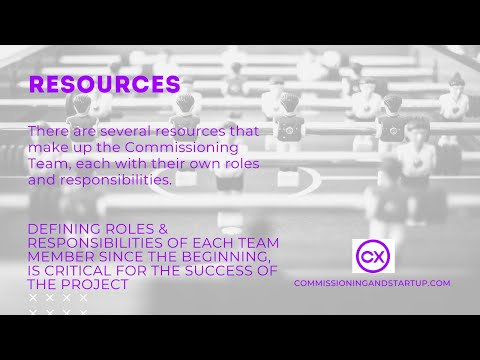 , title : 'Resources - What are the Roles and Responsibilities of Commissioning Team?
