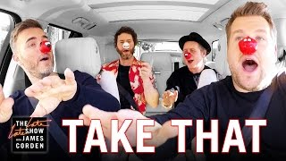 This is the comicrelief CarpoolKaraoke with Take That Please donate if you can x x x