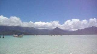preview picture of video 'Kaneohe Bay Sandbar'