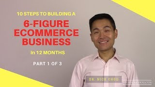 10 Steps to Building a 6-Figure Ecommerce Business in 12 Months [Part 1]