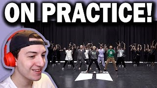 BTS (방탄소년단) 'ON' Dance Practice REACTION!