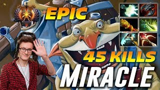 Miracle Techies 45 Frags | EPIC 2 Hours Game | Dota 2 Pro Gameplay