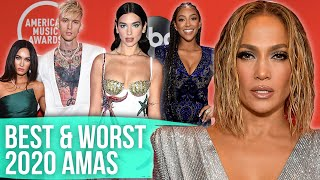 Best & Worst Dressed - American Music Awards 2020 (Dirty Laundry) by Clevver Style