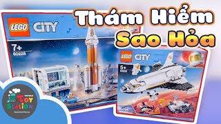 Thám hiểm Sao Hỏa gặp lại Cam Cam với LEGO 60228 và 60226 ToyStation 393