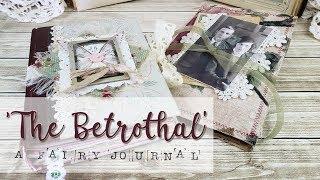 The Betrothal - A Fairy Journal and Ephemera Folder