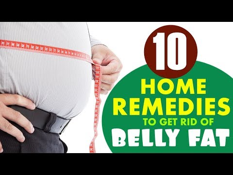 10 Home Remedies To Get Rid Of Belly Fat | Healthfolks