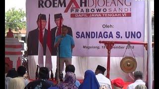 Sandiaga Uno Resmikan Roemah Joeang Prabowo-Sandi di Magelang