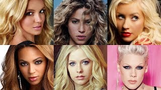 The Most Iconic Female Pop Singers of The 2000s & Their Songs (AMAZING SONGS)