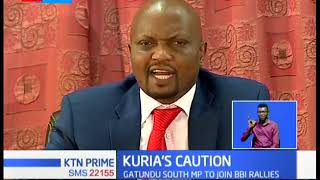 Moses Kuria threatens to sue anyone linking him to the murder of Chris Msando