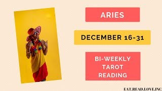 """ARIES - """"NOTHING CAN STOP YOUR SHINE!"""" DECEMBER 16-31 BI-WEEKLY TAROT READING"""