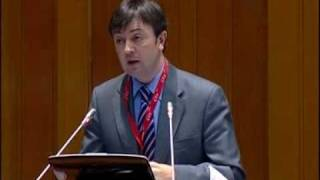 Jorge Flores (PantallasAmigas) en el encuentro l'Europe de l'Enfance (2 de 3)
