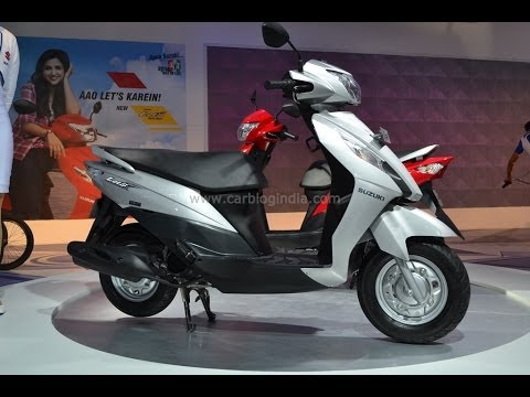 Suzuki Lets Scooter Review- Design, Features And More From Auto Expo 2014