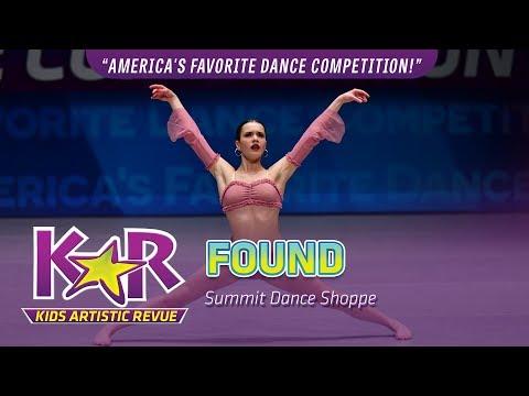 """Found"" from Summit Dance Shoppe"