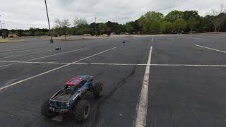 DJI FPV Drone Filming RC Car Races