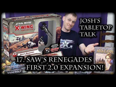 Josh Talks about Saw's Renegades and the 2.0 cards!