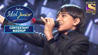Nirvesh की इस Performance से हुए  Judges Impress! | Indian Idol Junior | Mash Up Performance