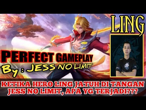 LING MANIAC PERFECT GAMEPLAY AND BEST BUILD By  : JESS NO LIMIT - MOBILE LEGENDS