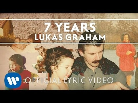 Lukas Graham - 7 Years [OFFICIAL LYRIC VIDEO] (видео)