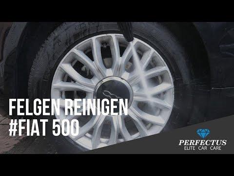 Felgen reinigen für Profis #Fiat 500